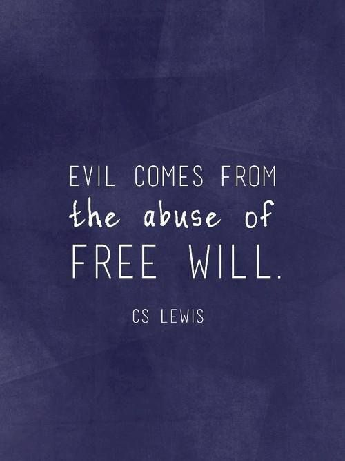 cslewis freewill