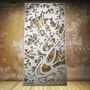 bronze-color-stainless-steel-aluminum-laser-cut