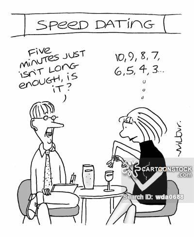 First impressions speed dating